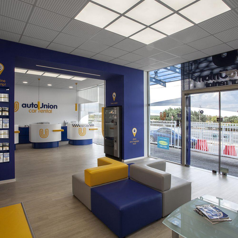 Autounion's retail design concept