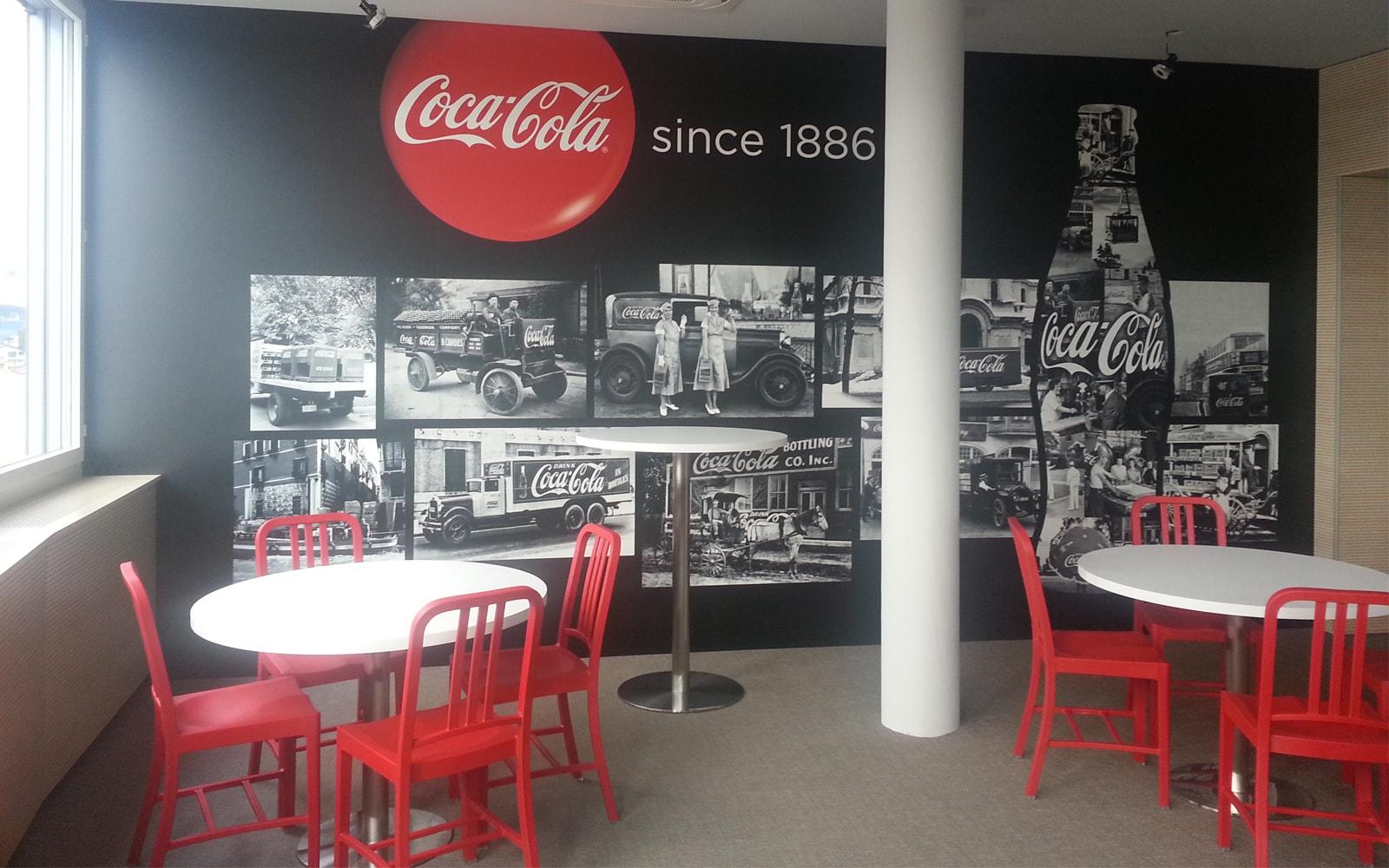 Award winning office design of Coca-Cola HBC's headquarters
