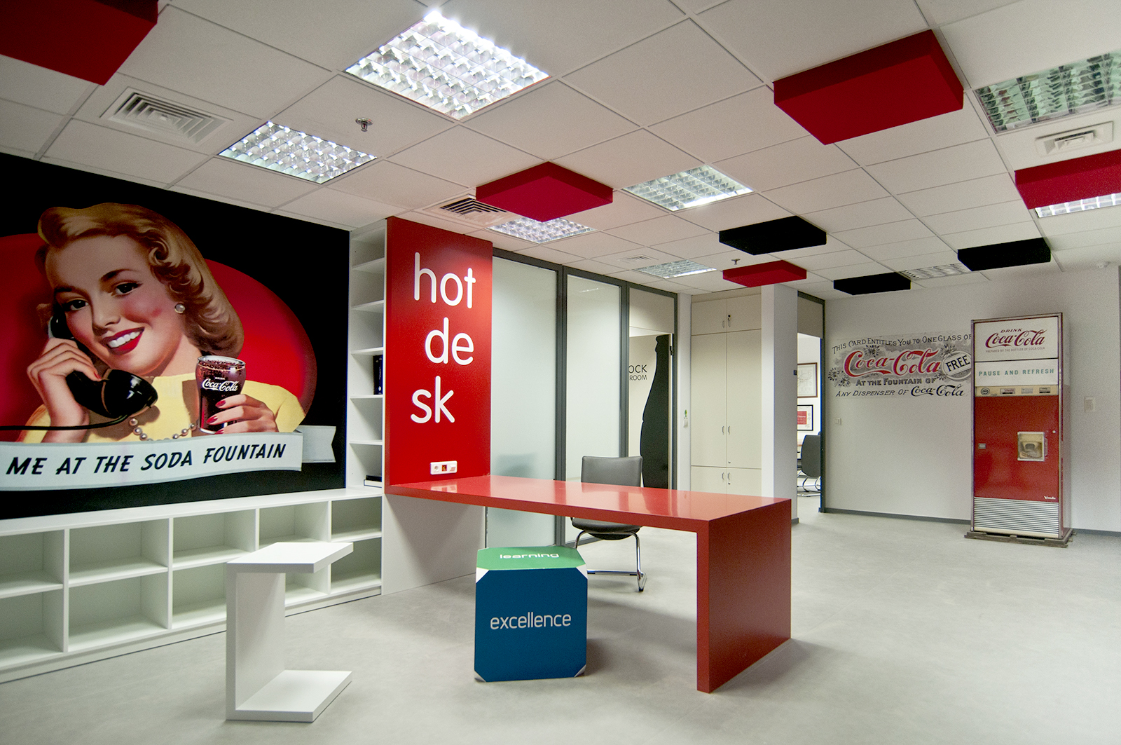 Redesign of Coca Cola Hellenic offices