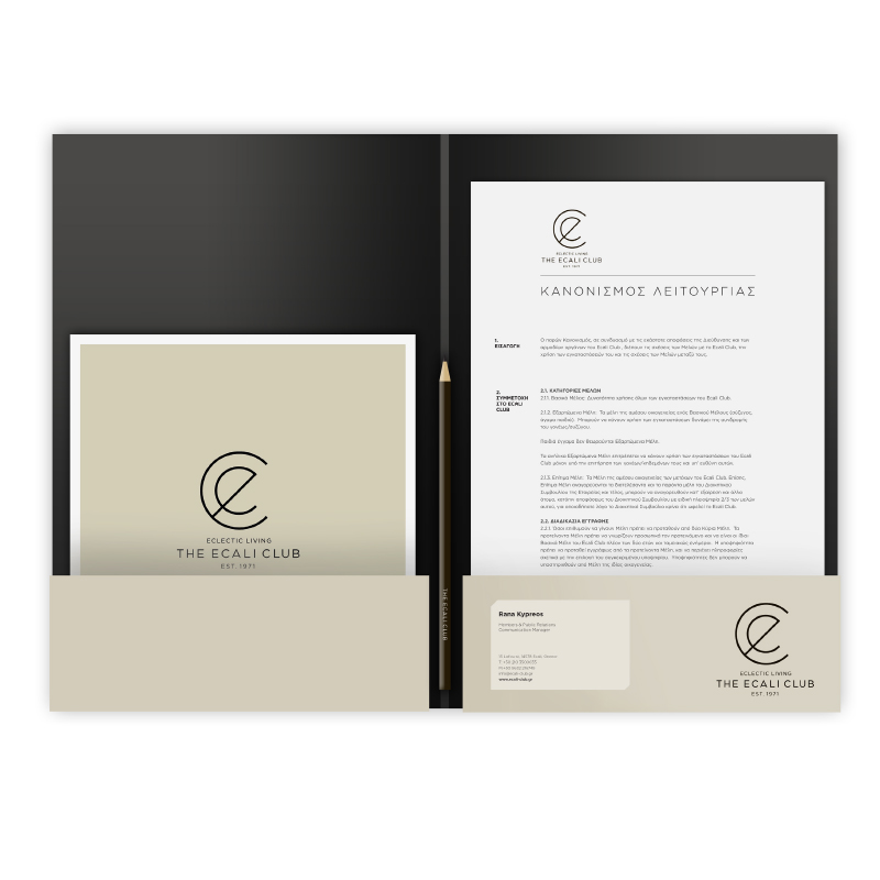 ecali club folder
