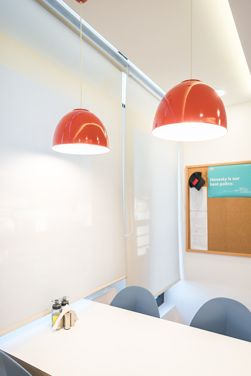 Office space design - 3M Canteen