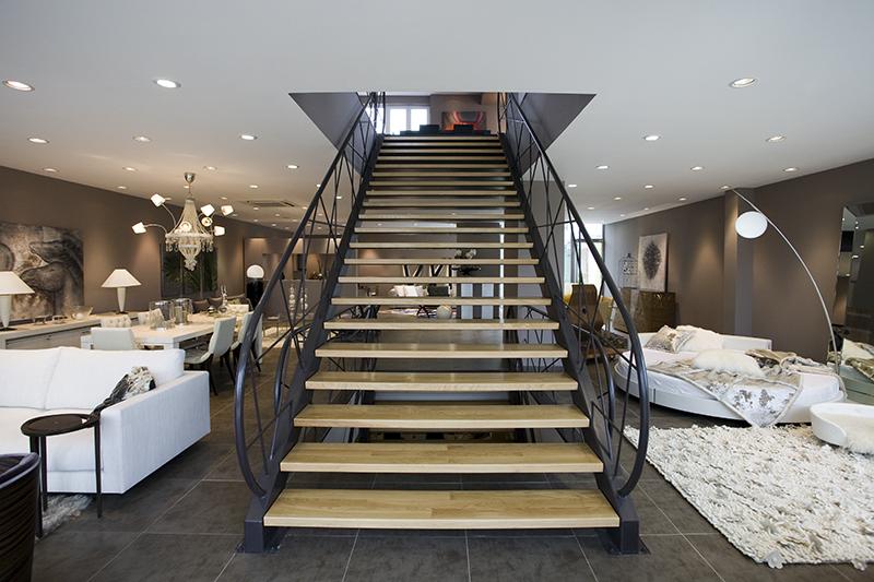 Retail store interior design focused on customer experience