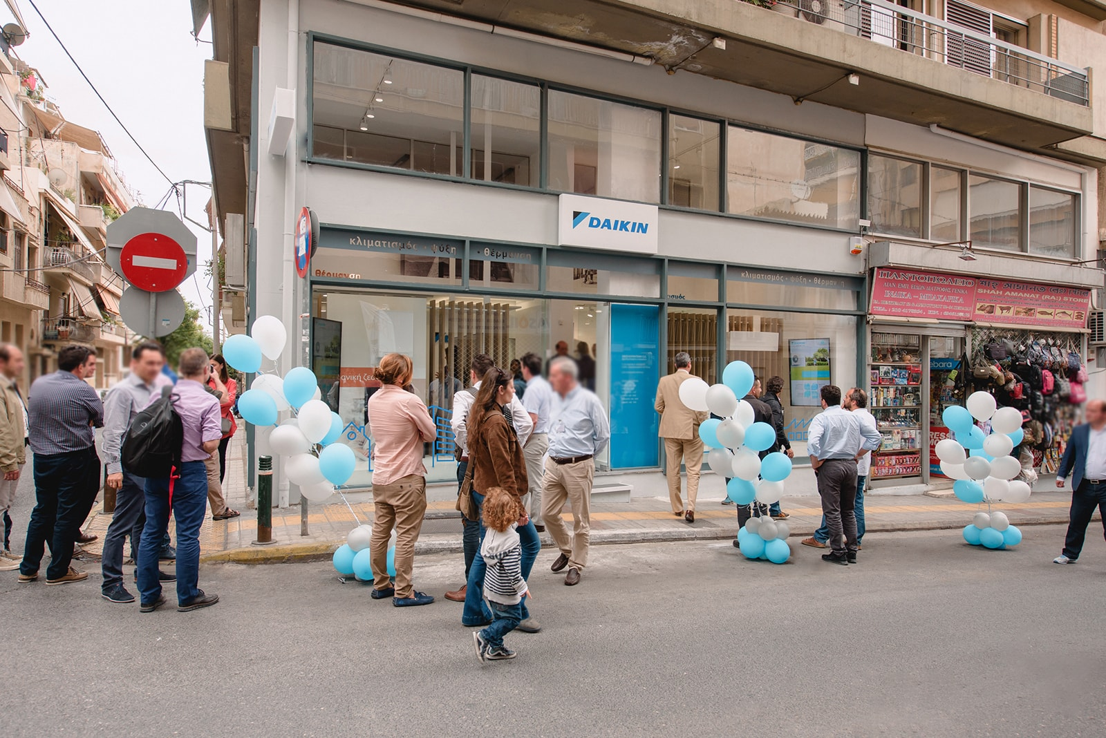 Unveiling of a new retail concept for Daikin Hellas