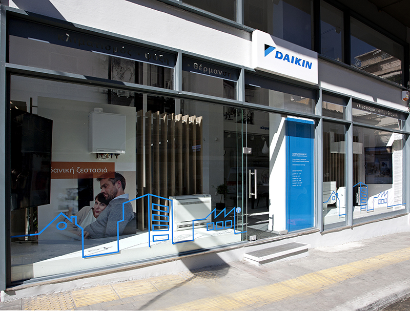 Daikin, a new retail concept.