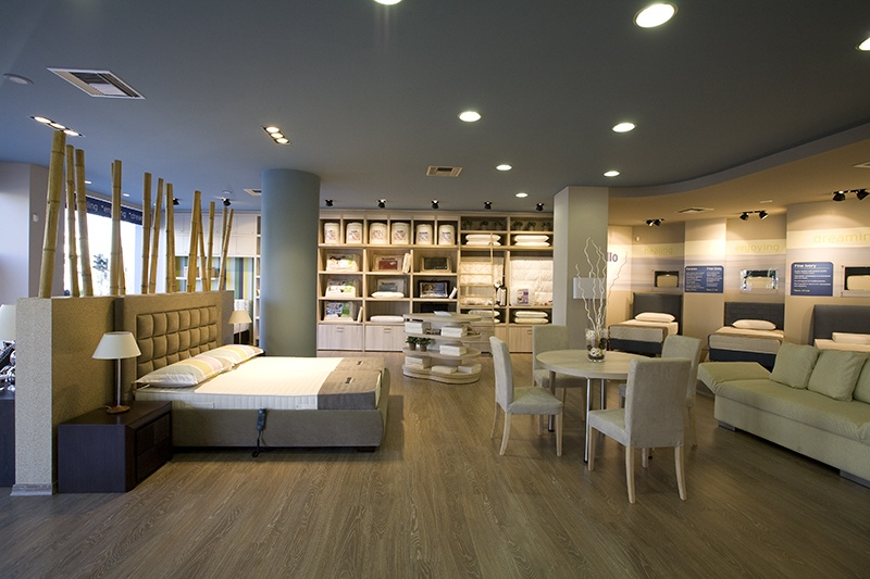 Original showroom concept design by Stirixis Group