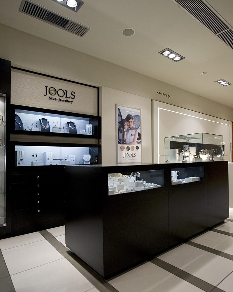 Jools. (Attica department store) Athens. Designed by Stirixis. Photo by Cathy Cunliffe