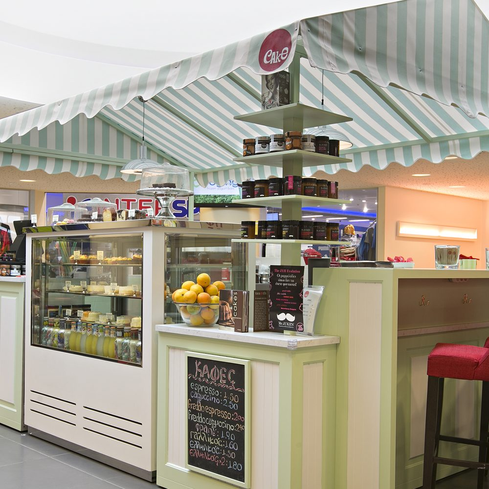 Cake's new store design by Stirixis Group