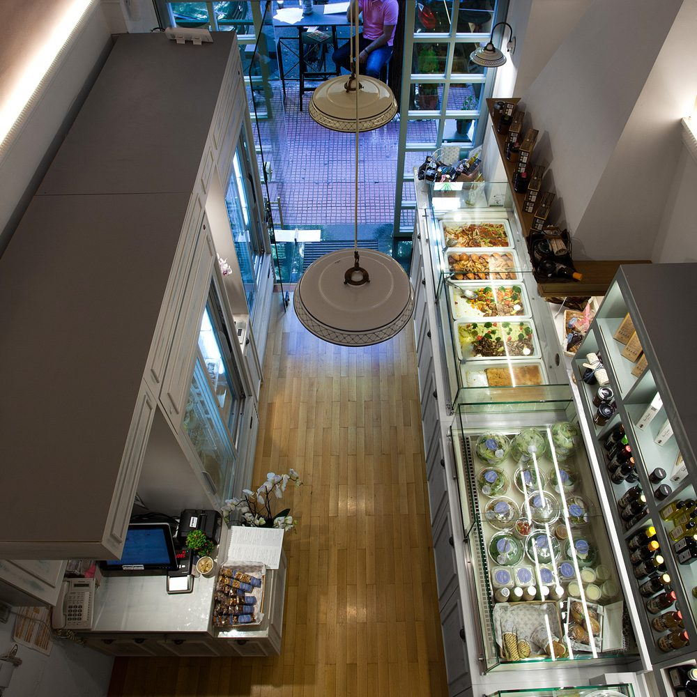 Cuisisne store, interior design view