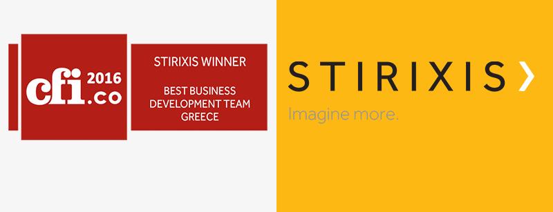 Capital Finance International Awards (UK) 2016 Best Business Development Team, Greece