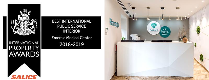 Best international public service interior award