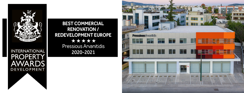 Pressious Arvanitidis - Workplaces Offices Building