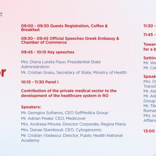 STIRIXIS Group's first Medical Forum in Bucharest