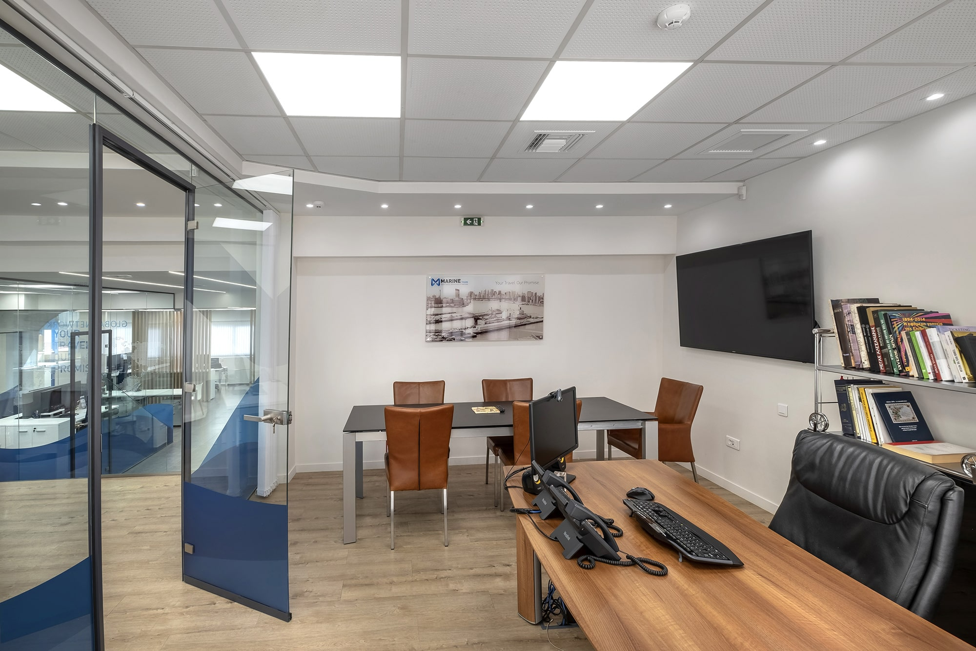 Marine Tours - Office interior design for the HQs.